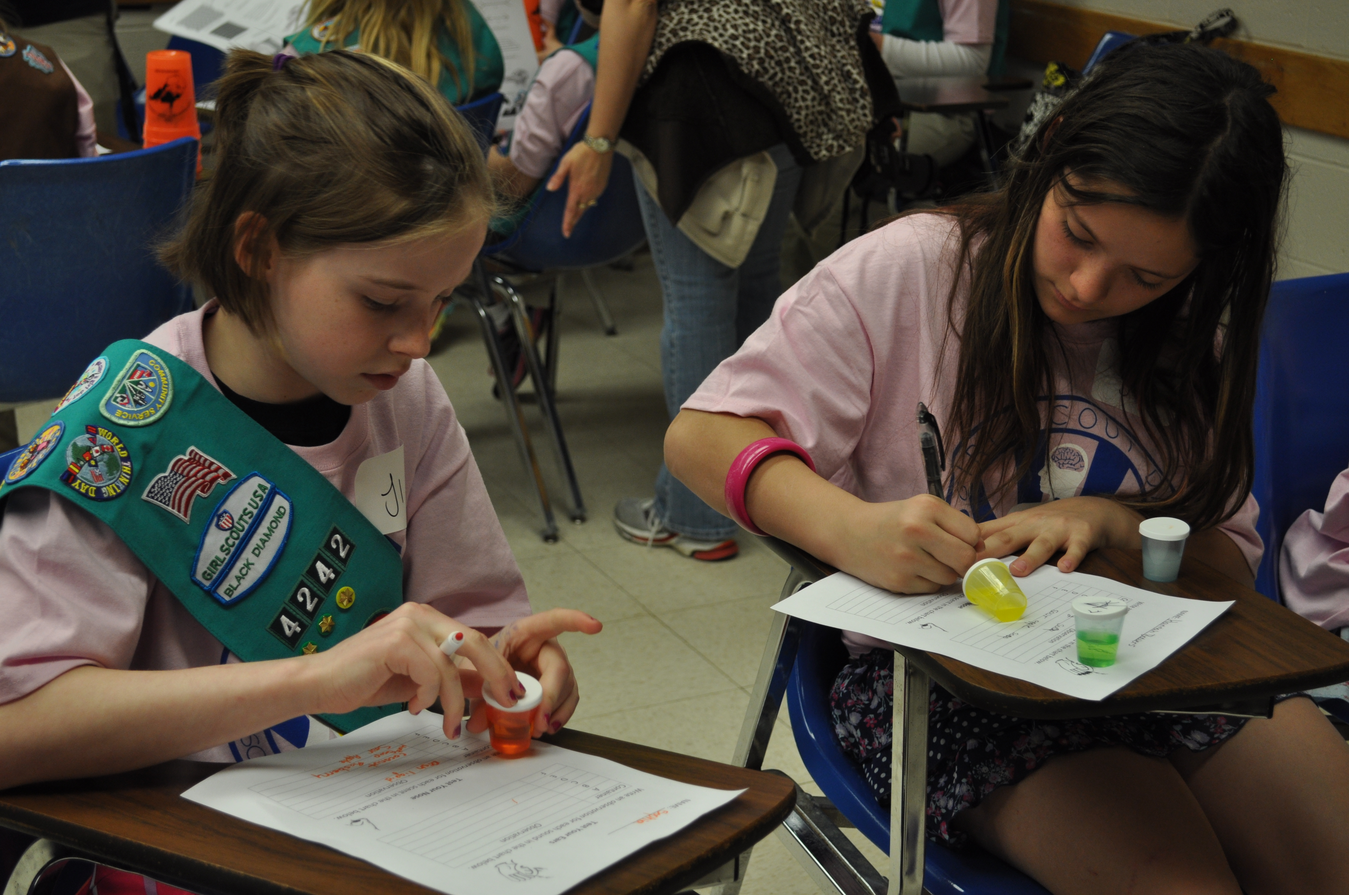 GirL Scout Math and Science Day