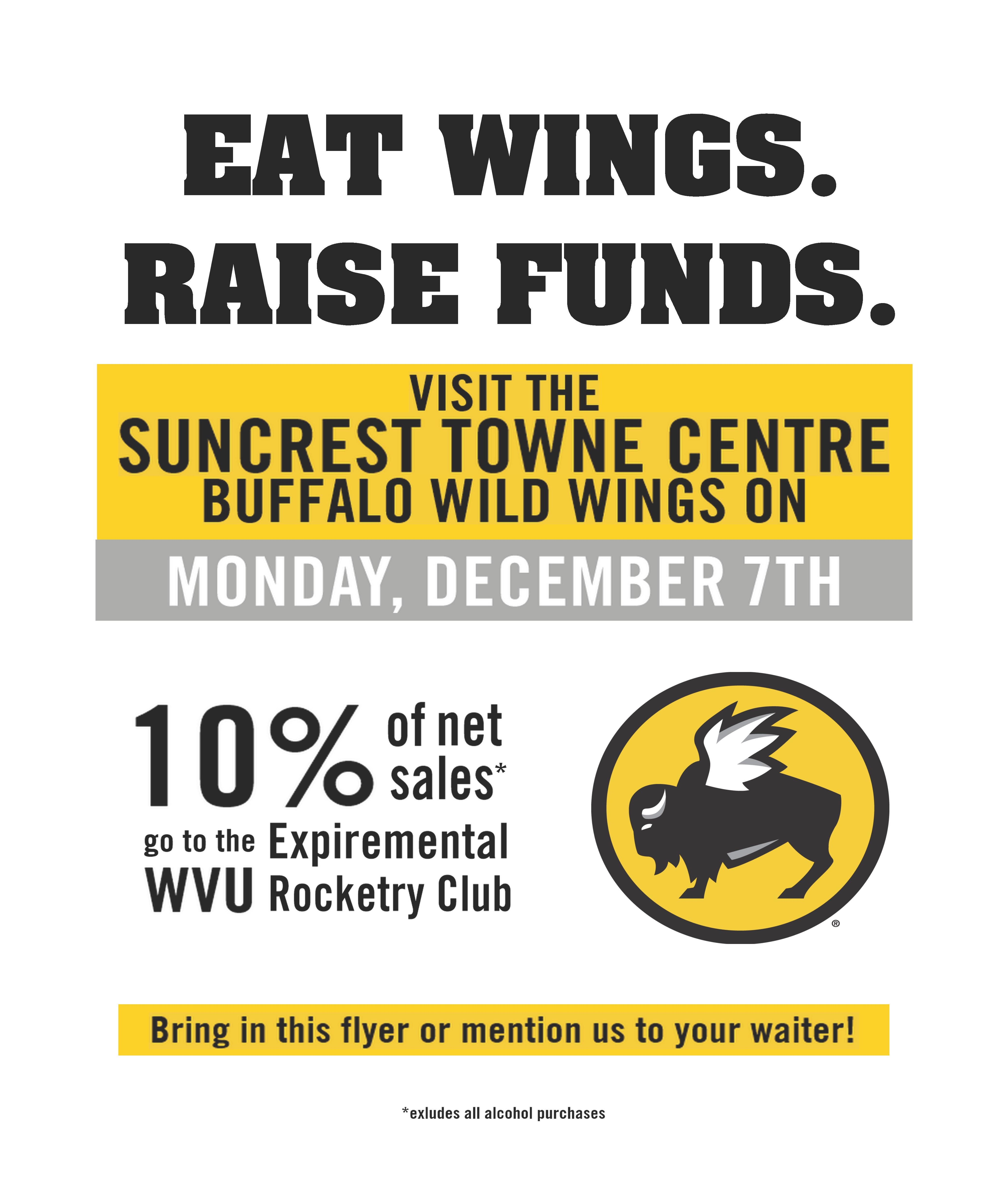 buffalo wild wings fundraiser flyer - Heart.impulsar.co