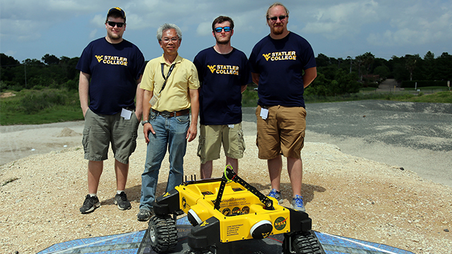 WVU Mars Rover RASCal Robo-Ops Competition in Houston, TX